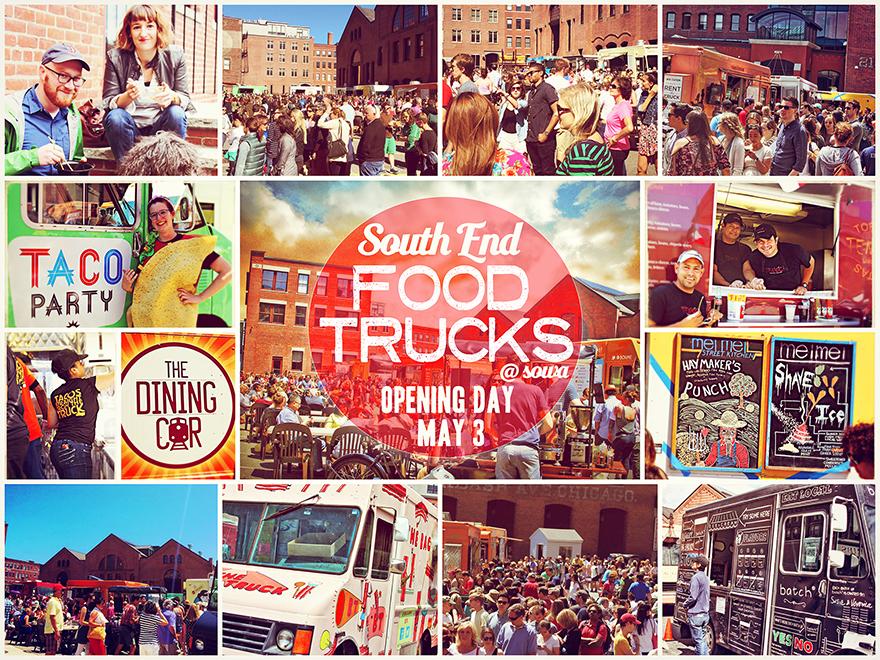 Sowa Market Boston Food Trucks