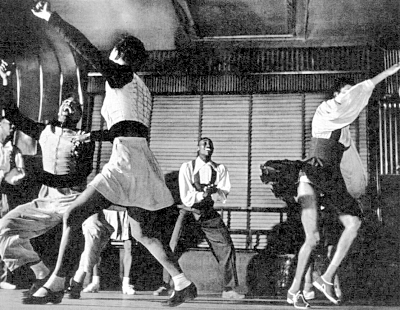 Frankie Manning Ctr Big Apple Lindy Hop Routine Life Mag A on Swing Dance Basic Steps