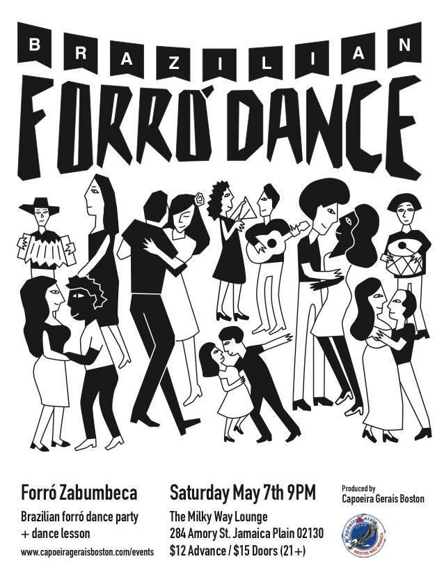Brazilian Forro Dance Fundraiser [05/07/16]