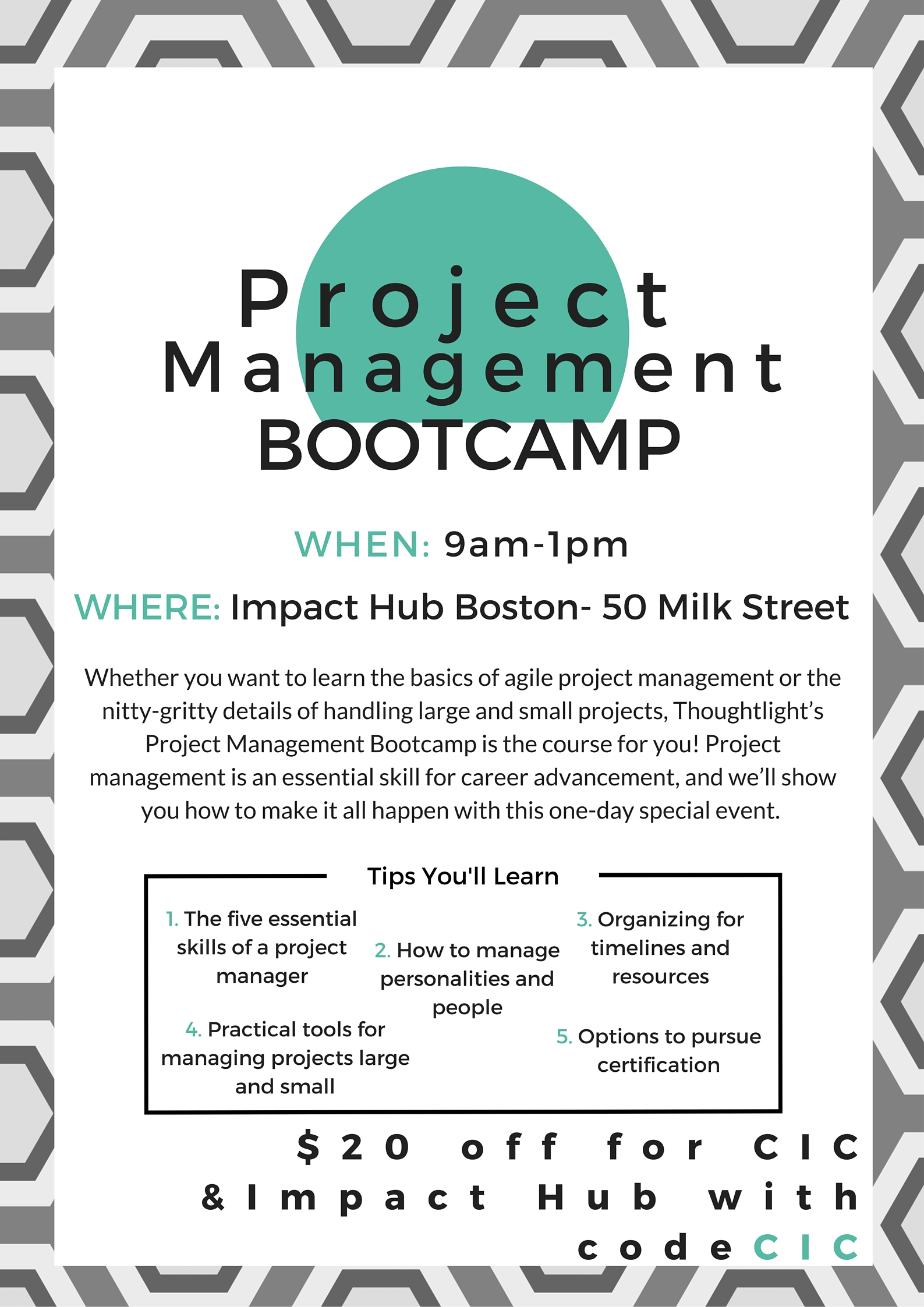 Project Management Bootcamp 042916
