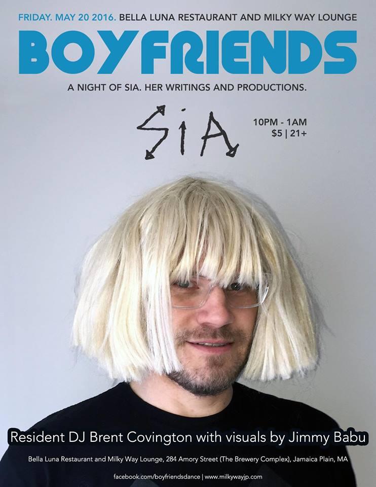 Calendar May Sia : Boyfriends loves sia