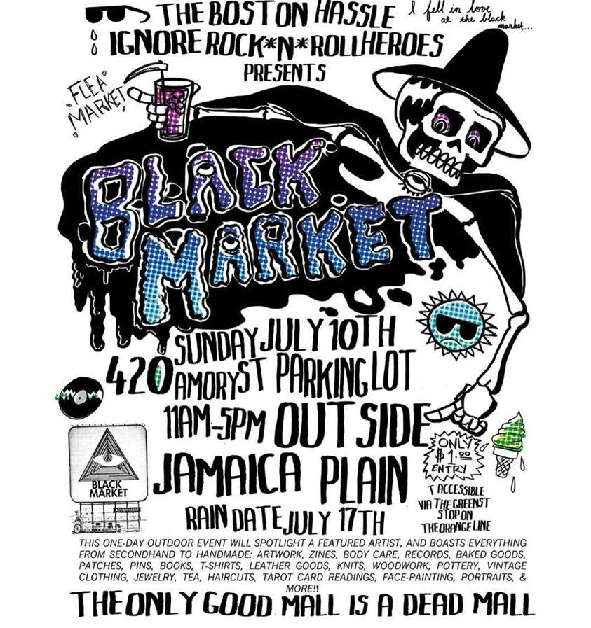 Black Market Art Flea Record Artisan Market 071716