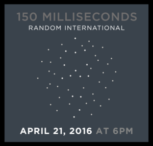"random international's ""150 milliseconds"" [06/22/16]"