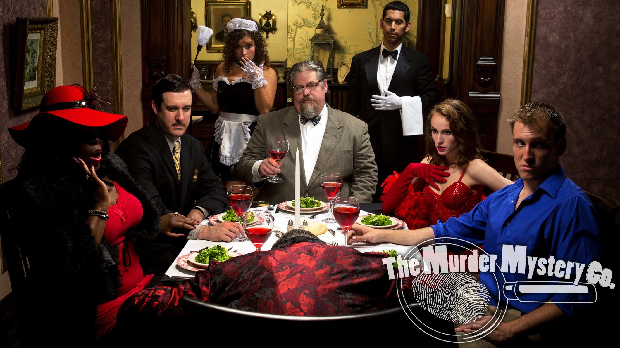 Murder Mystery Dinner [08/13/16]
