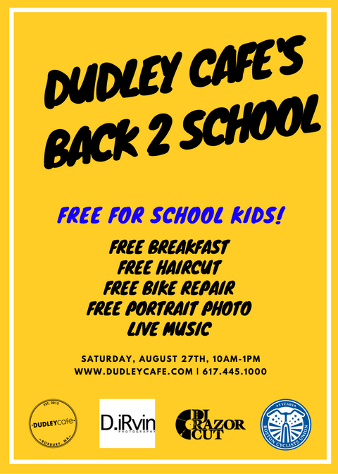 Dudley Cafe S Back 2 School 08 27 16