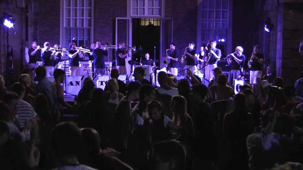 Outdoor Dance Party With Beantown Swing Orchestra 08 11 16