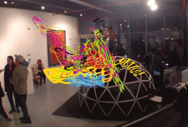 Art Augmented Reality Opening Reception 09 16 16
