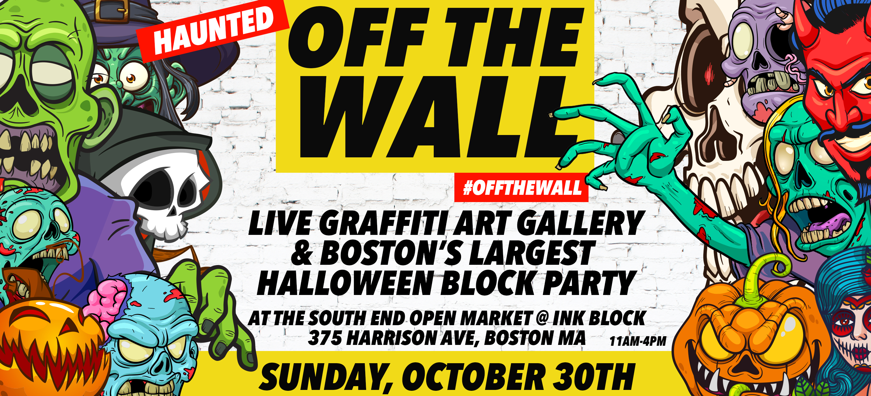 Haunted OFFTHEWALL - Live Graffiti & Boston's Biggest Halloween ...