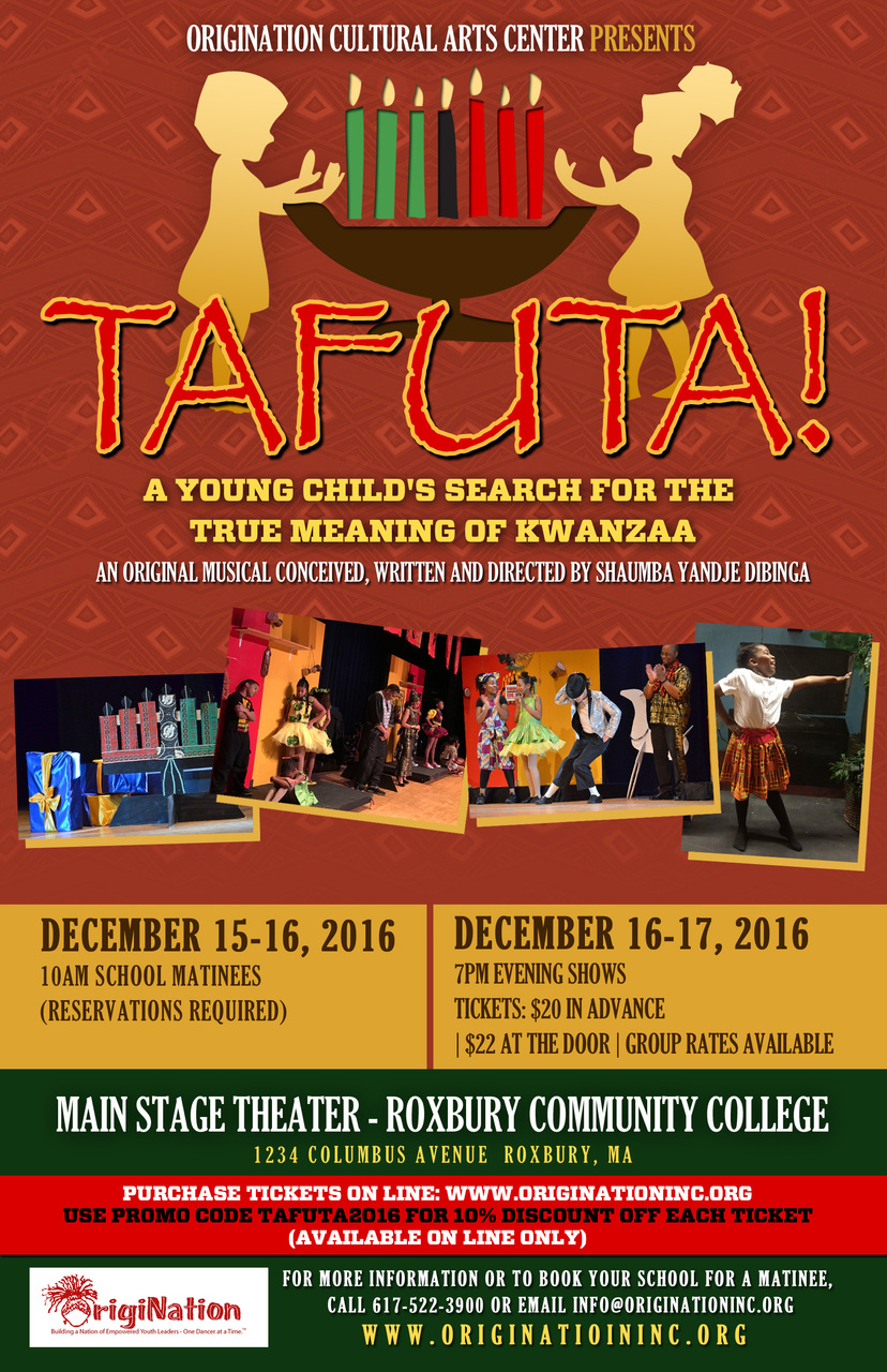Tafuta! A Young Child's Search for the True Meaning of