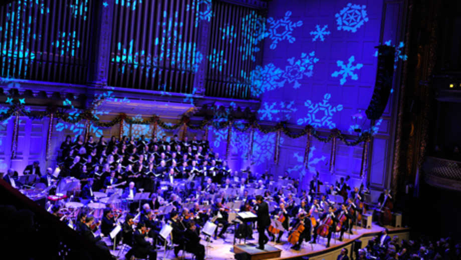 Christmas boston pops / Dave and