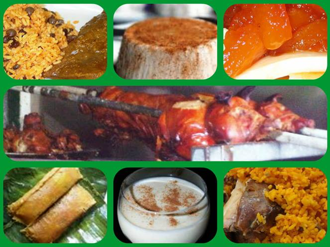 Traditional puerto rican christmas dinner 12 08 16 for Authentic puerto rican cuisine