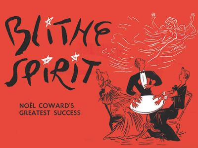 a comical review of noel cowards novel blithe spirit Official theatre reviews blithe spirit at the gielgud theatre starring angela lansbury the 2009 broadway revival of blithe spirit scooped itself several tony awards, including one for angela.