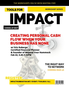 tools for impact creating personal cash flow when your business has