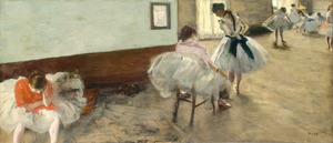 The_dance_lesson_by_edgar_degas
