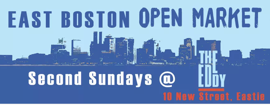 East boston open market 39 s second sundays 04 09 17 for Craft fair boston 2017