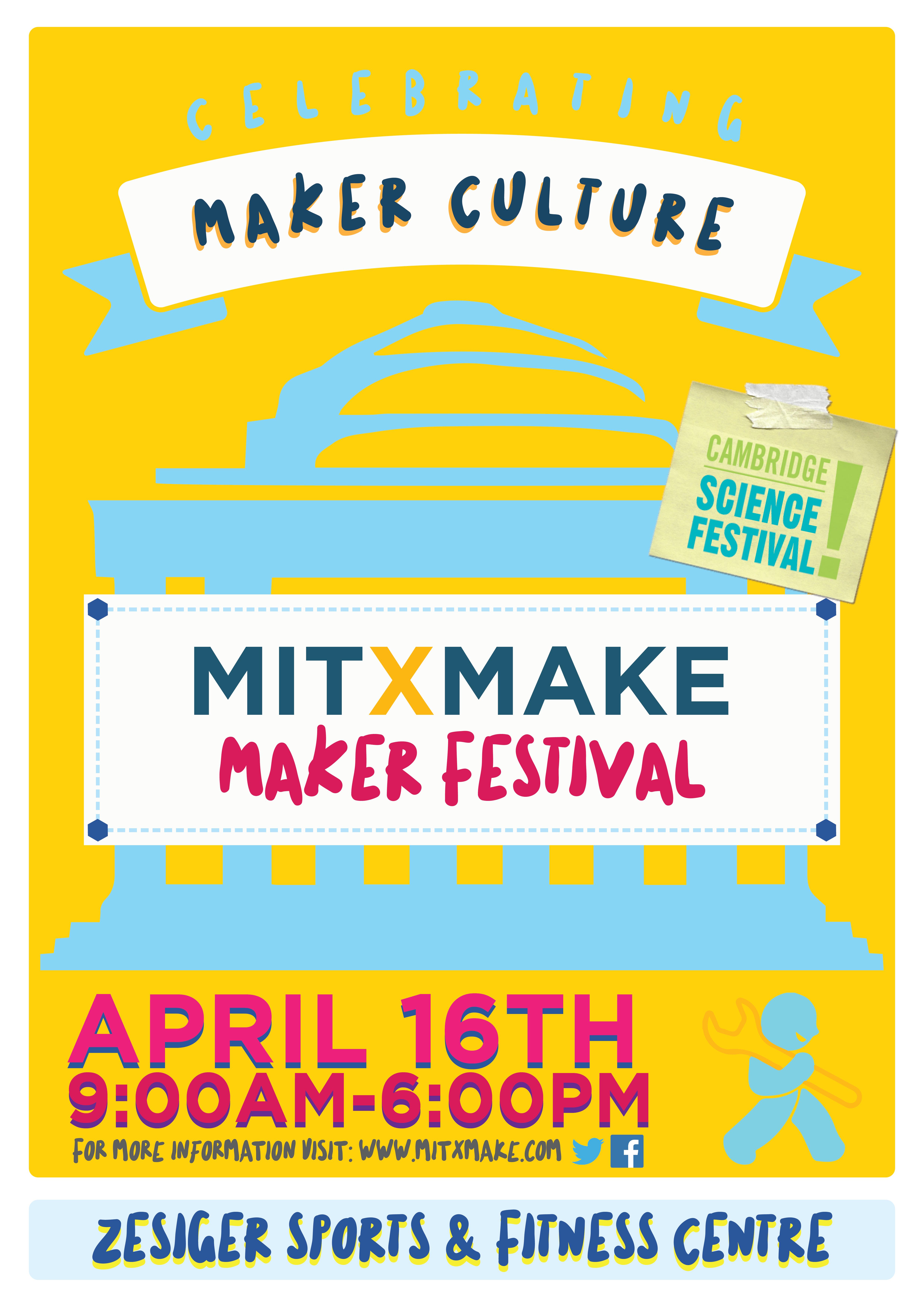 Calendar Poster Maker : Mitxmake maker festival