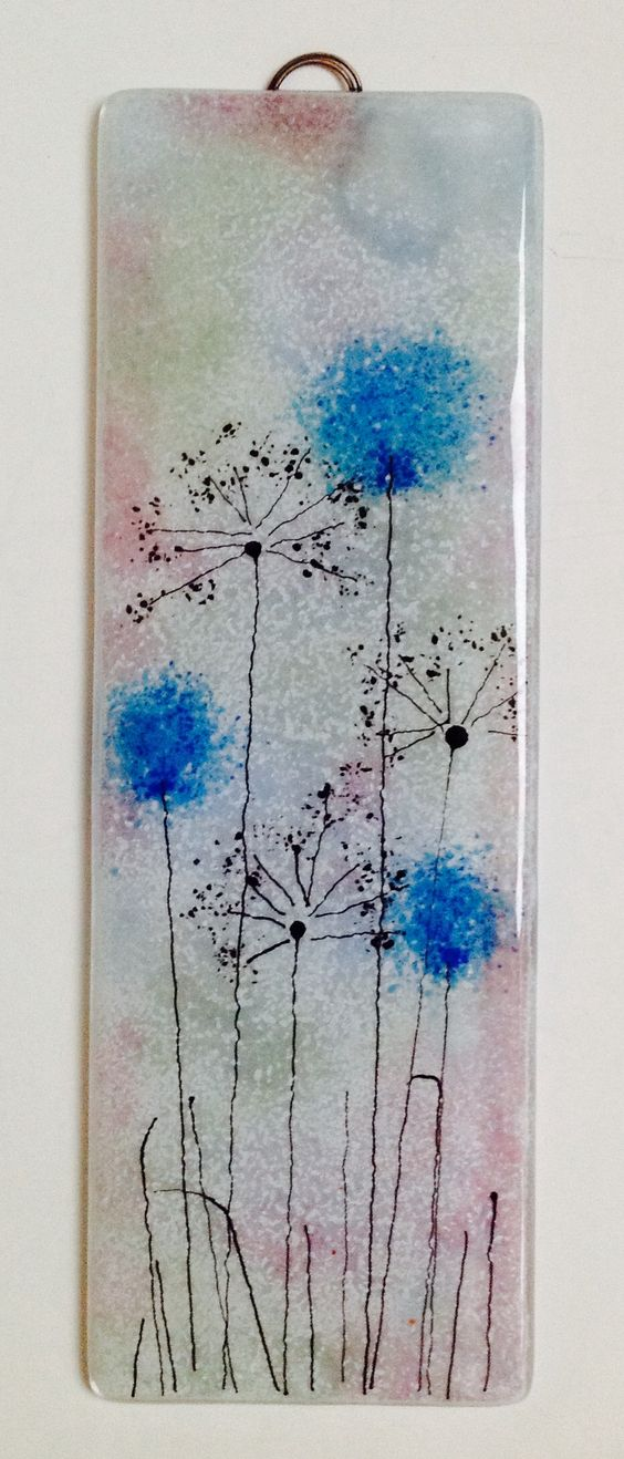 Fields Of Frit Flowers Glass Fusing Class 050517