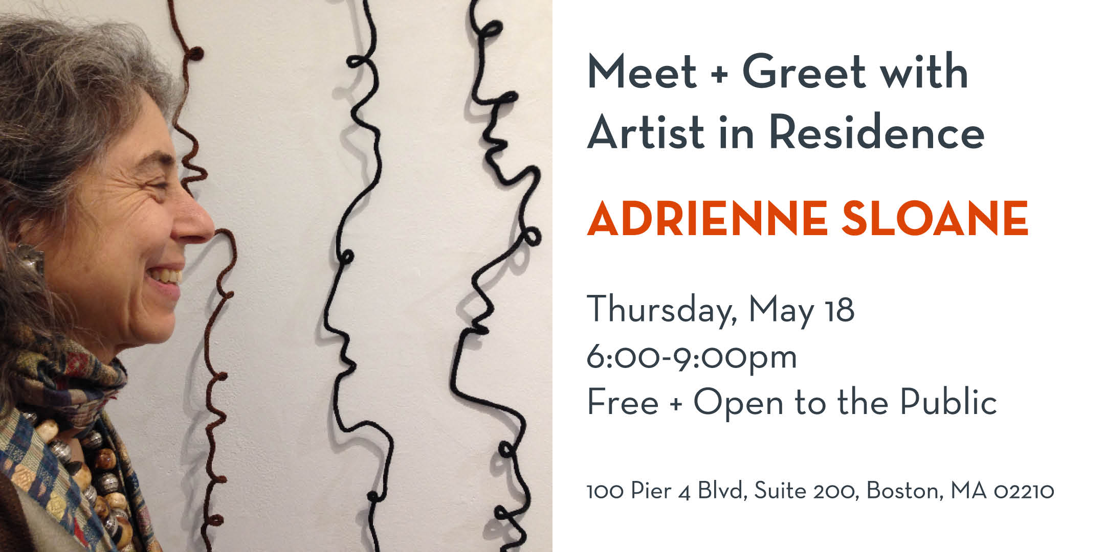 Meet And Greet With Artist In Residence Adrienne Sloane 051817