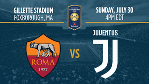 International Champions Cup As Roma Vs Juventus