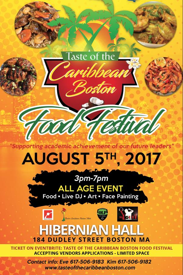 taste of the caribbean boston food festival  08  05  17