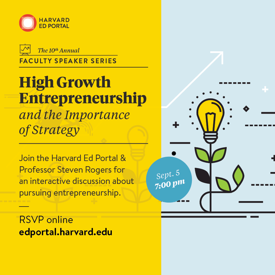 Importance And Tips: Faculty Speaker Series: High Growth Entrepreneurship And