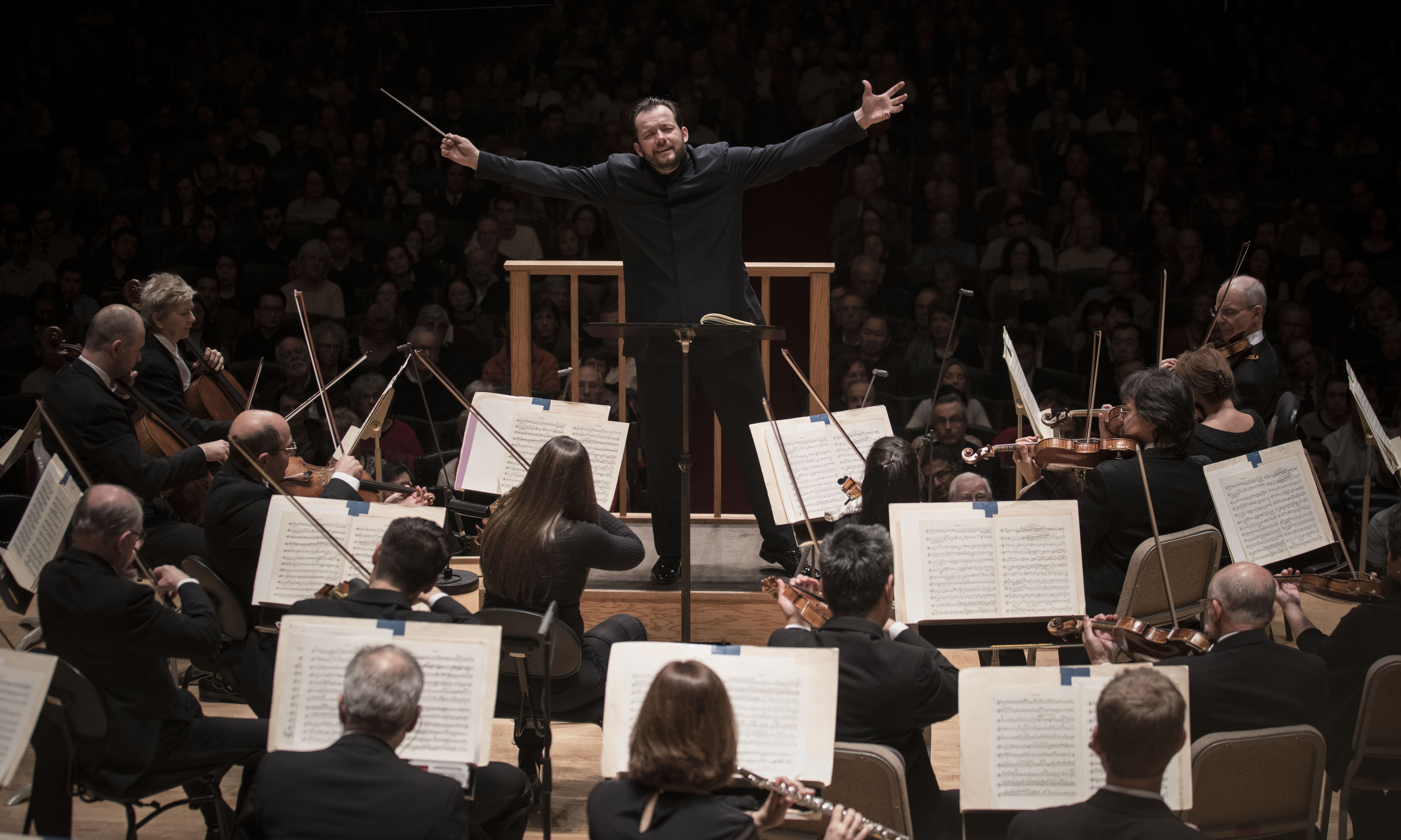 Music Director Andris Nelsons Conducts Hayden and Mahler