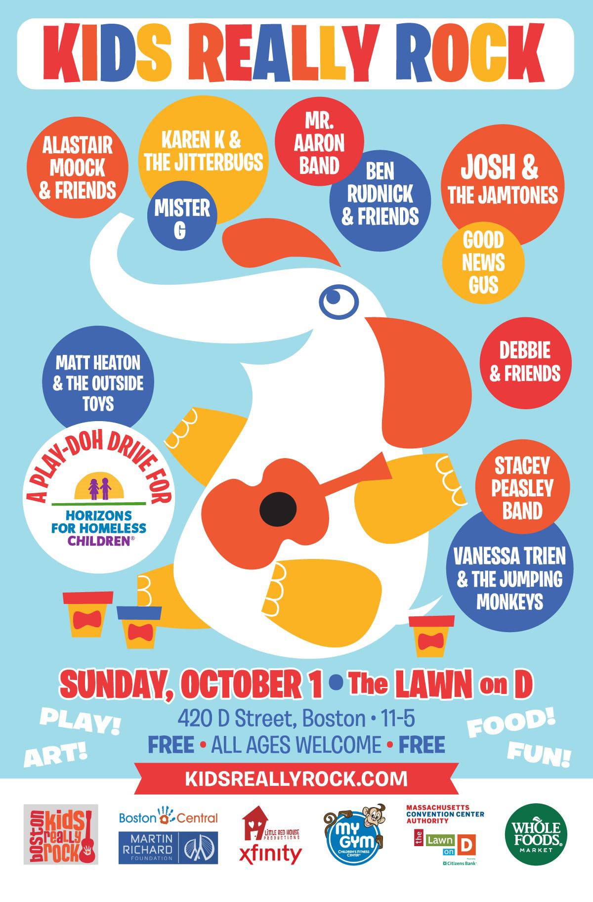 Kids Really Rock Celebrates 5th Annual Boston Family Festival