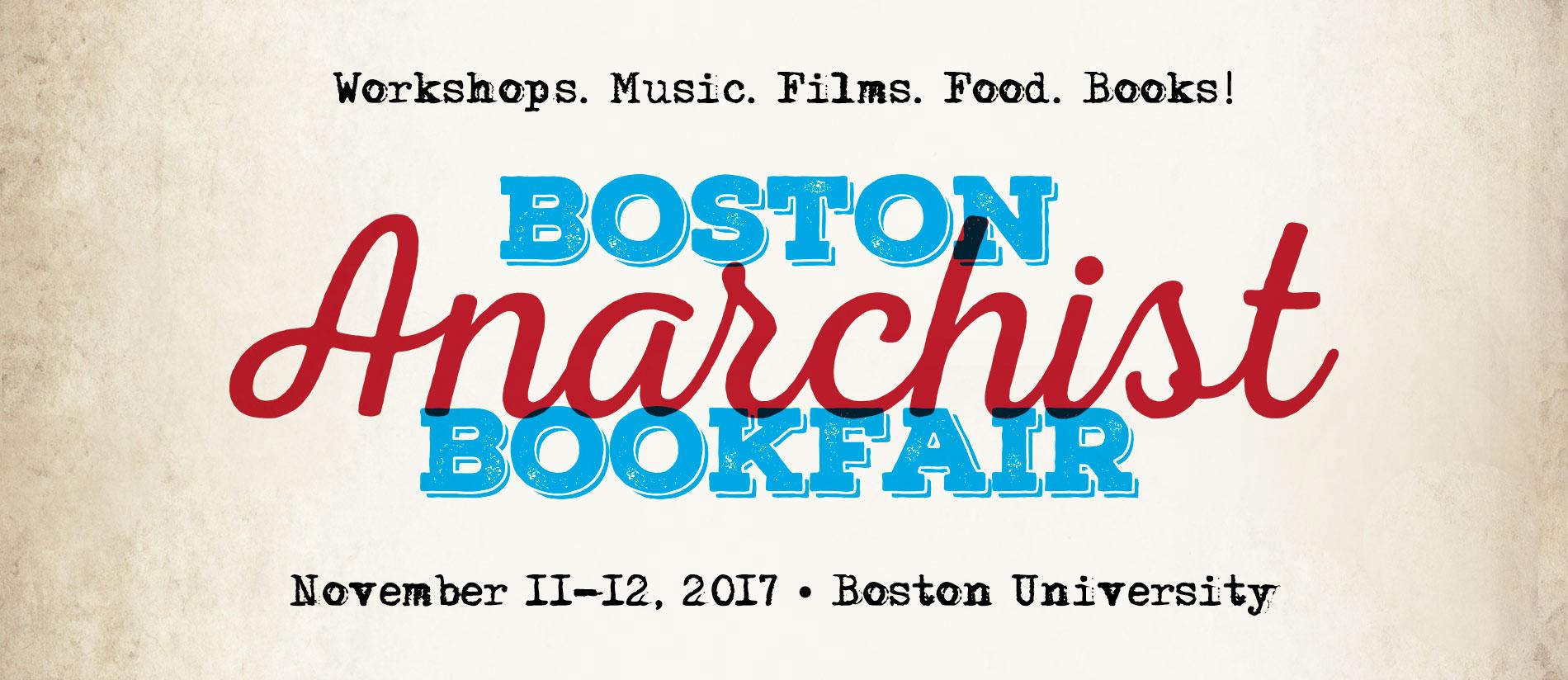 Boston anarchist bookfair 11 11 17 for Craft fair boston 2017
