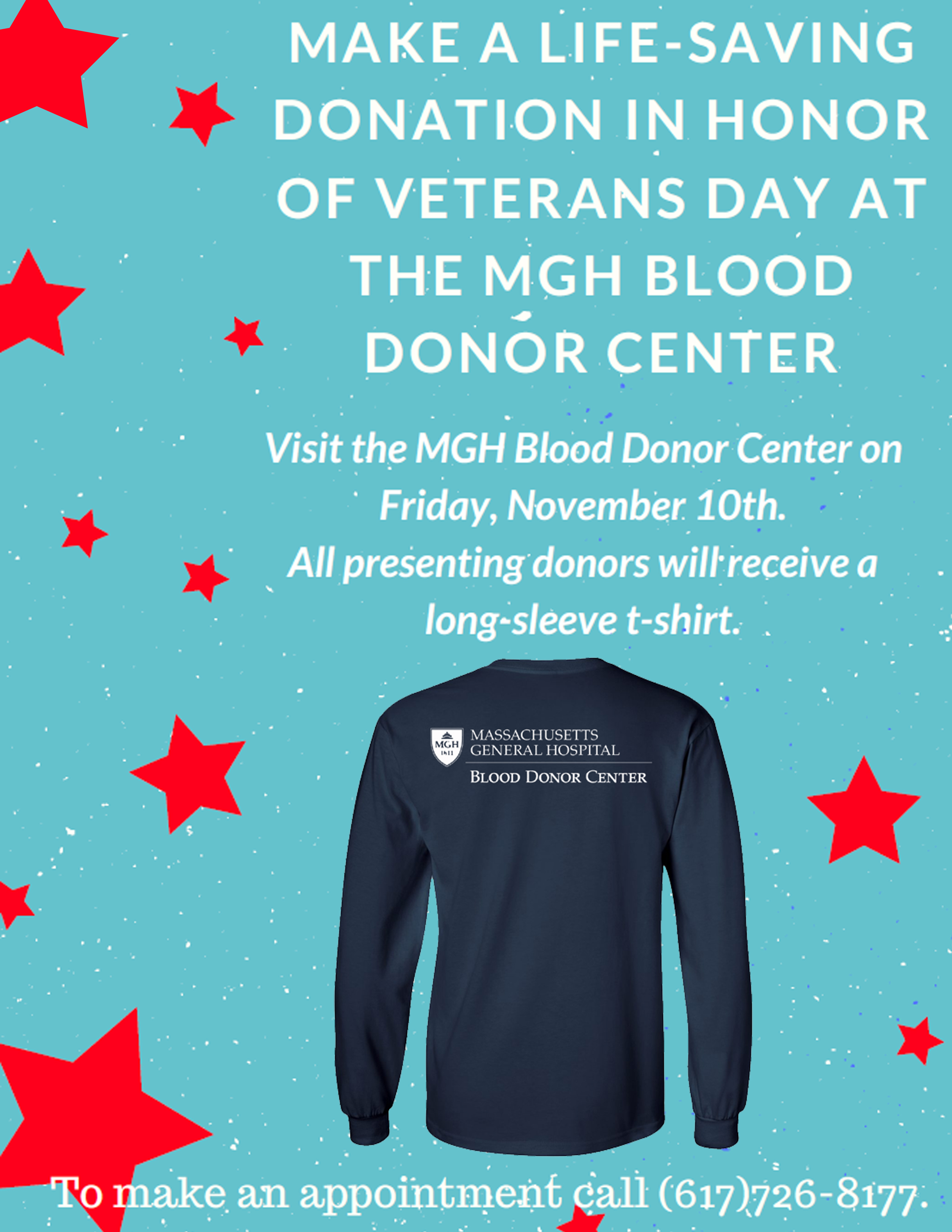 Make a Life-Saving Blood Donation in Honor of Veterans Day