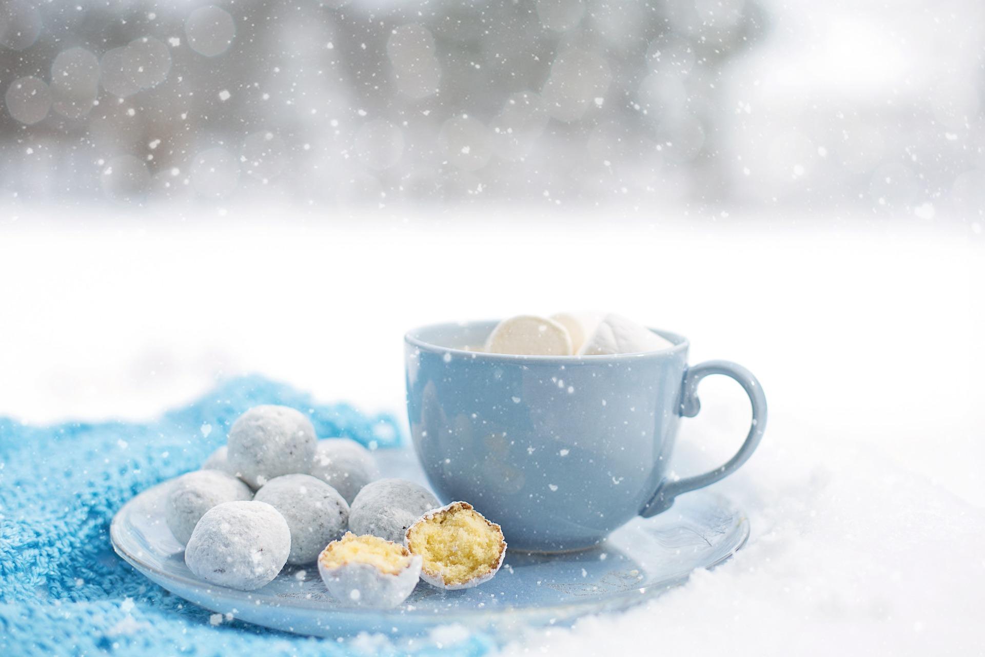 Про поцелуи, открытки с добрым утром снежное