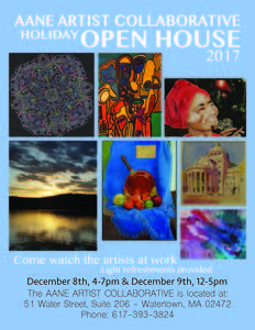 artists with asperger s open house and art sale 12 08 17 rh thebostoncalendar com