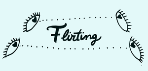 Flirting_drawing