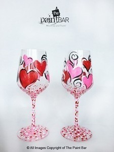 Heartwineglasses