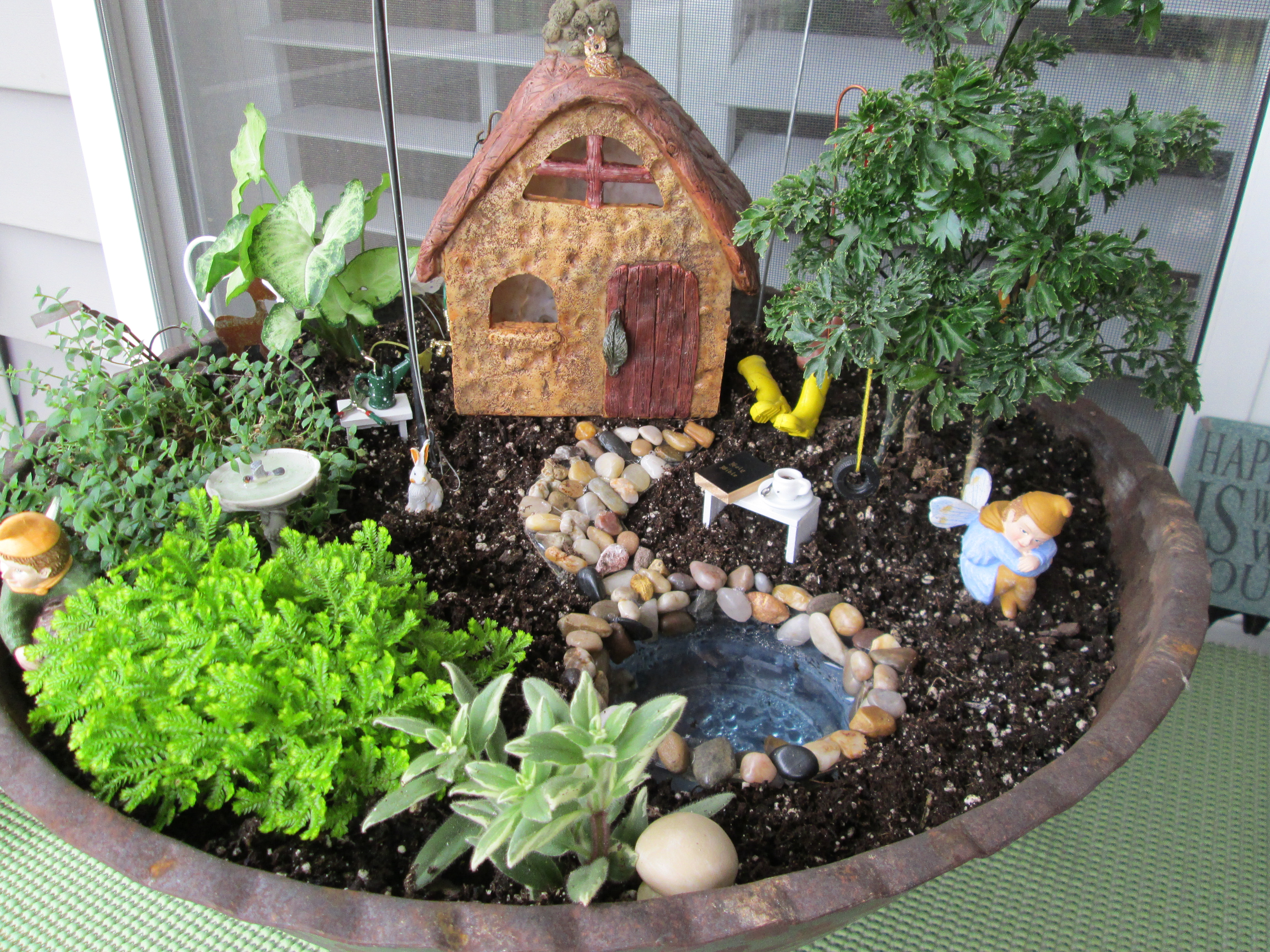 Gnome Garden: Kids Fairy Garden Workshop At Chestnut Hill Square [02/23/18]