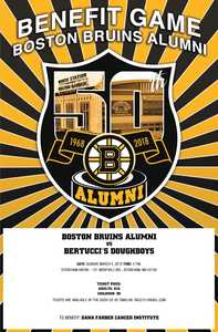 Bruins Alumni Vs Bertuccis Doughboys Benefit Hockey Game