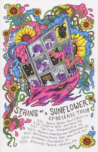 Stains_of_a_sunflower_ep_release_tour_poster