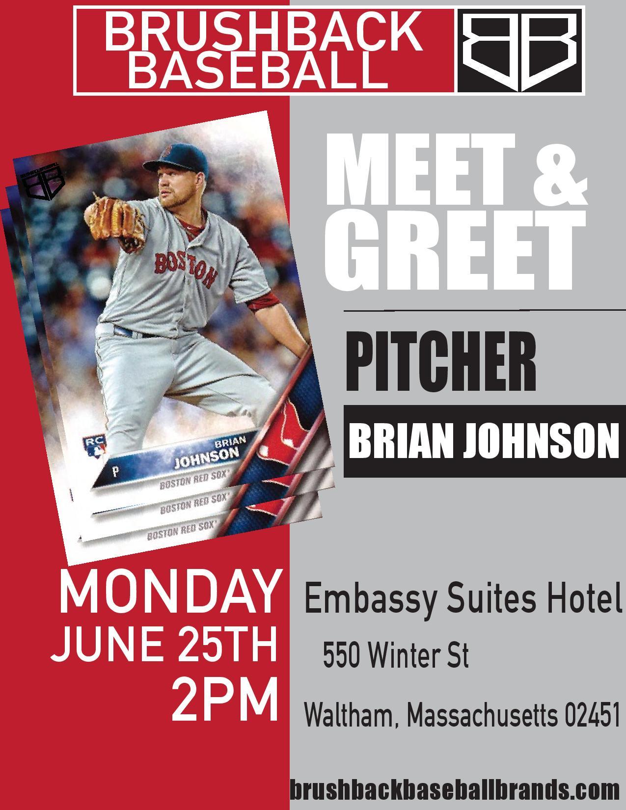 Brian Johnson Meet And Greet 062518