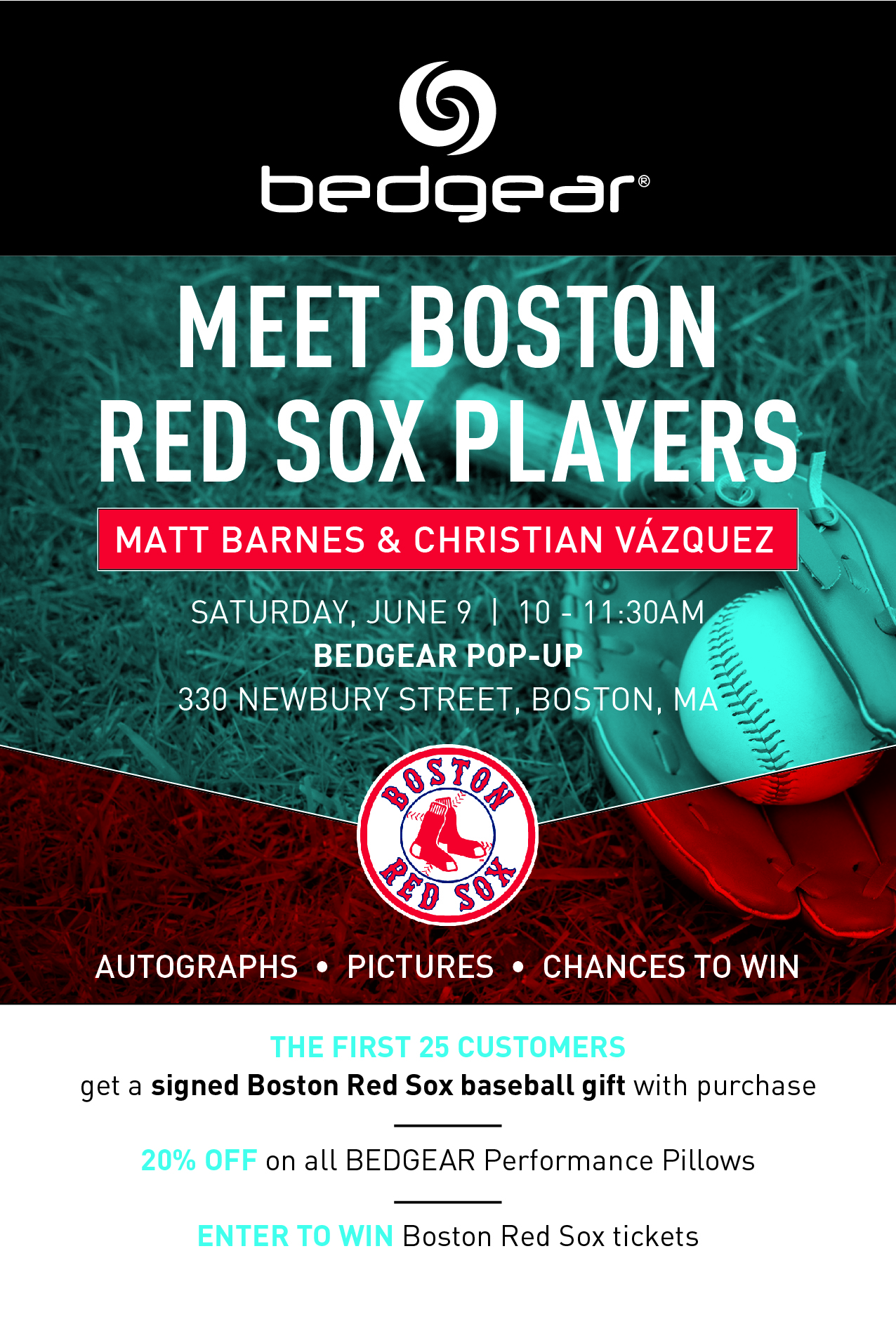 Come Meet Boston Red Sox Players 060918