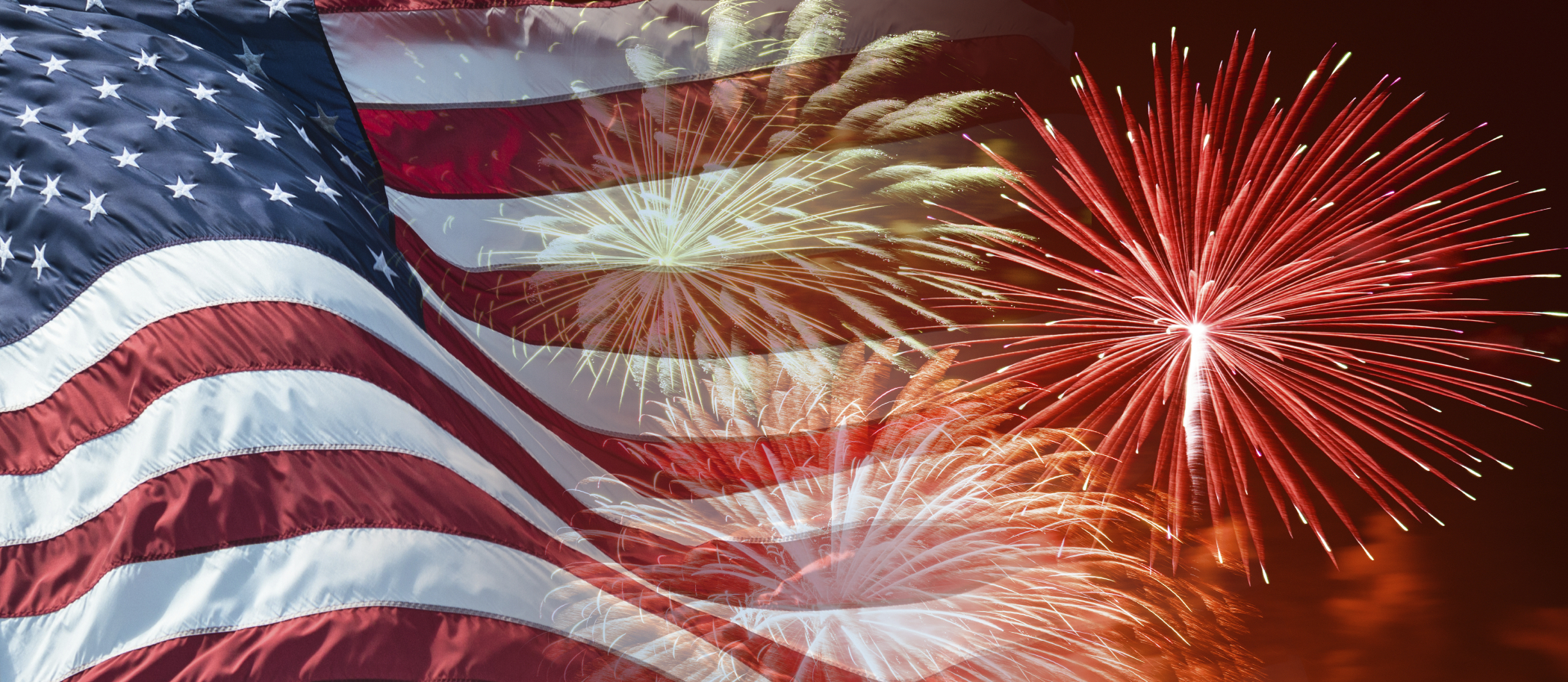 Fireworks and Flag stock image. Image of stars, stripes