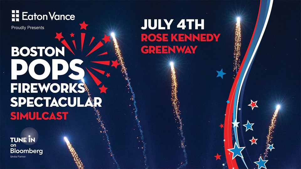 Greenway Simulcast of the Boston Pops Fireworks Spectacular [07/04/18]