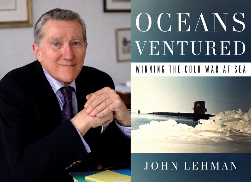 Image result for John F. Lehman oceans ventured book cover