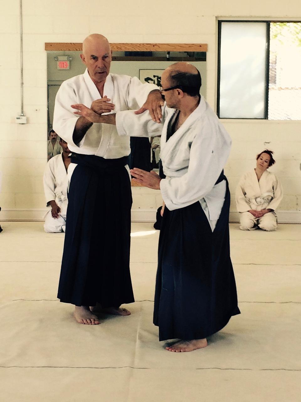 Shobu Aikido Open Dojo Basic Techniques 09 29 18