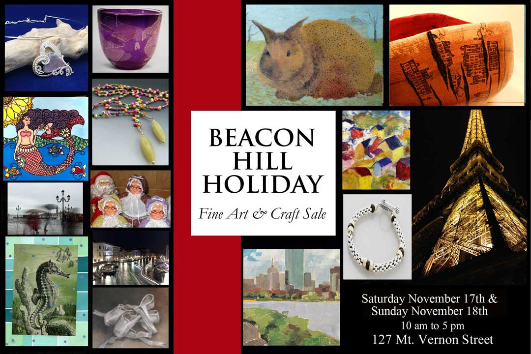 Beacon Hill Holiday Fine Art Craft Sale 11 17 18