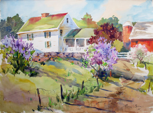 Peter_spataro_spring_farm_22x28_watercolor