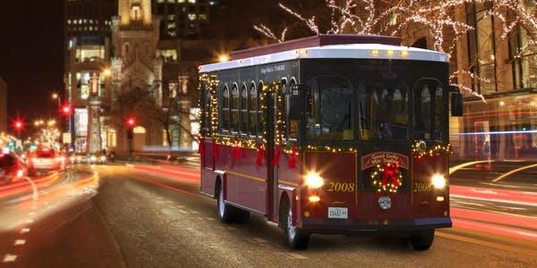 Byob Holiday Lights Trolley 12 07 18