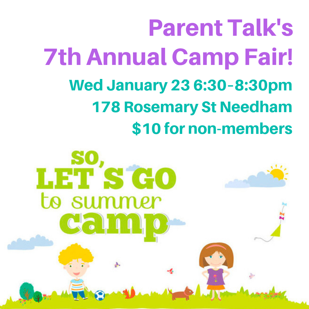 Parent Talk's 7th Annual Summer Camp Fair 01/23/19