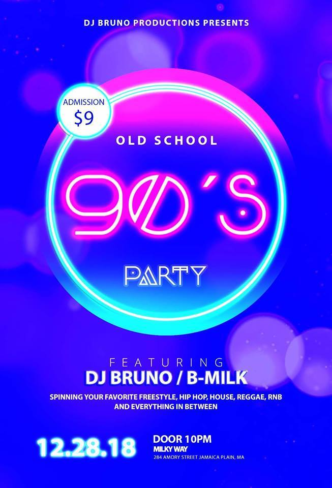 Old School '90s Party [12/28/18]