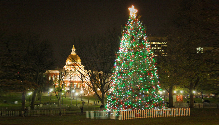 Christmas In Boston 2019.Boston Common Tree Lighting Ceremony 12 05 19