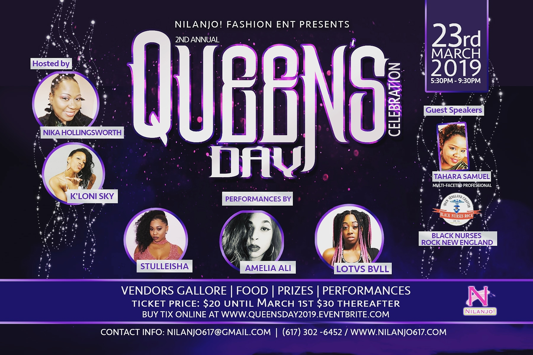 224b4730ce82b Nilanjo! Presents 2nd Annual Queen's Day Celebration [03/23/19]