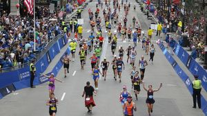 Runners-make-their-way-toward-the-finish-line-of-the-121st-news-photo-669539616-1554144641